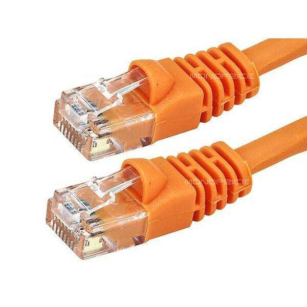 50ft CAT 5e UTP Patch Cable Orange