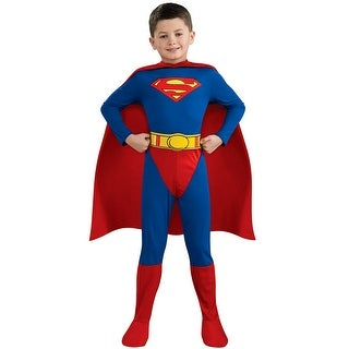 Rubies Superman Toddler/Child Costume - Blue/Red