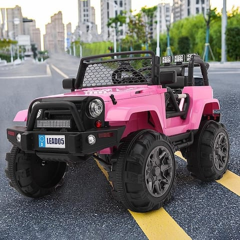 LEADZM Electric Remodeled Ride on Kids Car With Remote Control
