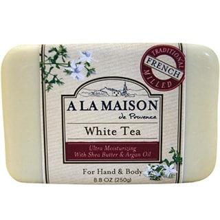A La Maison - Bars Soap - White Tea ( 4 - 8.8 OZ)