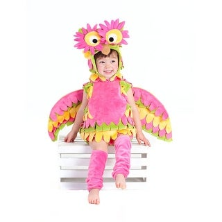 Girls Infant Holly Owl Bird Halloween Costume