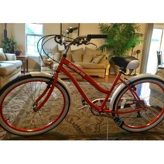 "Body Glove Women's Orange Oversize Santorini Cruiser Bike (26"")"