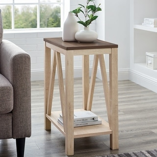Link to The Gray Barn Paradise Hill A-Frame Side Table Similar Items in Living Room Furniture