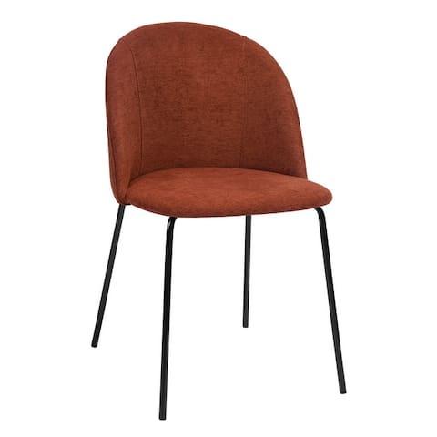 Carson Carrington Idemala Brushed Fabric Dining Chairs (Set of 2)