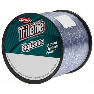 Berkley Trilene Big Game Steel Blue Fishing Line Spool - 10 lb test, 1500 yds - 10 lb. test 1500 yds