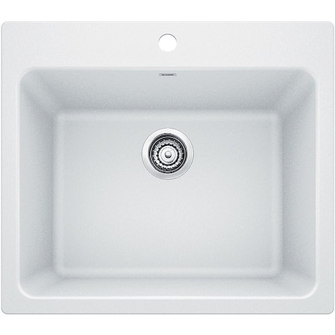 Blanco 401927 Liven Granite Composite Drop-In or Undermount Laundry Sink