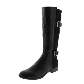LifeStride Womens Rockin Riding Boots Belted Knee High