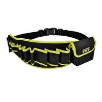 Unique Bargains Release Buckle Black Yellow Engineer Electrician Tool Waist Bag Pouch