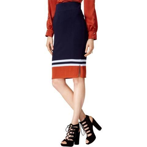 Bar Iii Womens Sweater Pencil Skirt