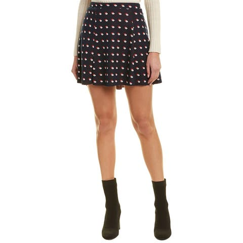 Bcbgeneration Dotted A-Line Skirt