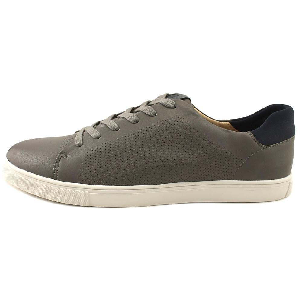 55ed192b8 Shop Sam Edelman Tyson Men Round Toe Leather Gray Sneakers - Free Shipping  Today - Overstock - 19740194