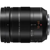 Panasonic Lumix G Leica DG Vario-Elmarit 12-60mm f/2.8-4.0 Professional Lens - black