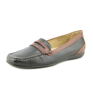 Trotters Francie Square Toe Synthetic Loafer