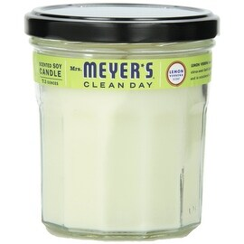 Mrs Meyers Clean Day 42116 Mrs. Meyer's Soy Candle, Lemon Verbena, 7.2 Oz