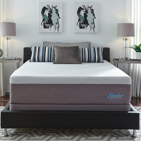 Slumber Solutions Choose Your Comfort 14-inch Gel Memory Foam Mattress Set