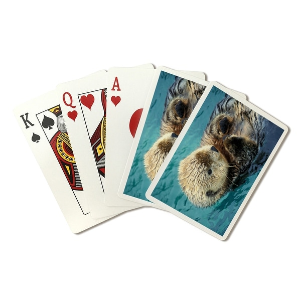 Sea Otter Up Close - LP Photography (Poker Playing Cards Deck)