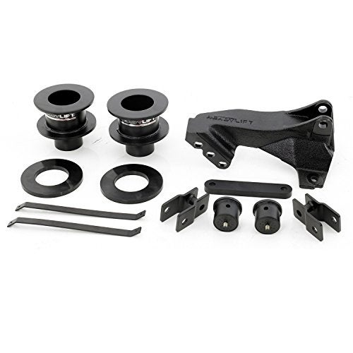 ReadyLift 66-2515 Leveling Kit with Track Bar Bracket for F3 - black powdercoat
