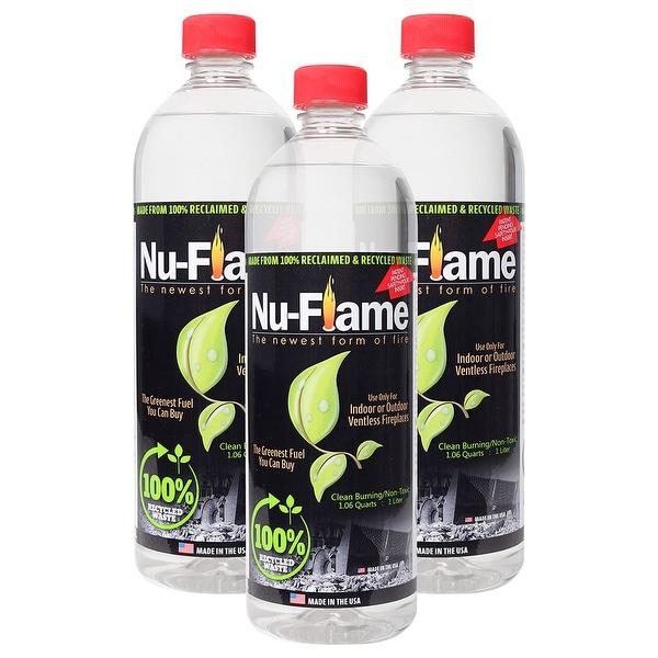 Bluworld Nu Flame Bio Ethanol Fuel 3 Pack