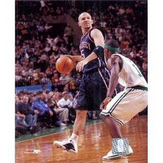 Signed Kidd Jason New Jersey Nets 8x10 Photo autographed