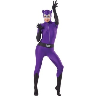 Rubies Catwoman Zentai Bodysuit Adult Costume - Solid (3 options available)
