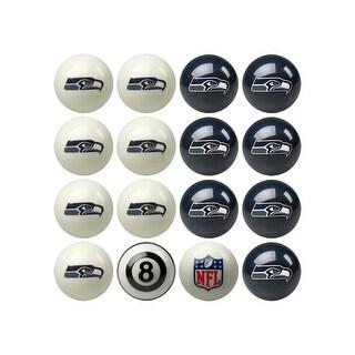 NFL Seattle Seahawks Home vs. Away Team Billiard Pool Ball Set