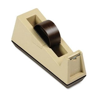 Heavy Duty Weighted Desktop Tape Dispenser 3 core Plastic