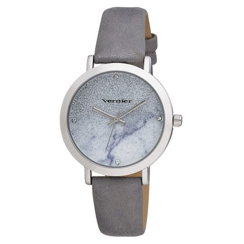 Vernier Womens Stardust Dial Iridescent Strap Watch