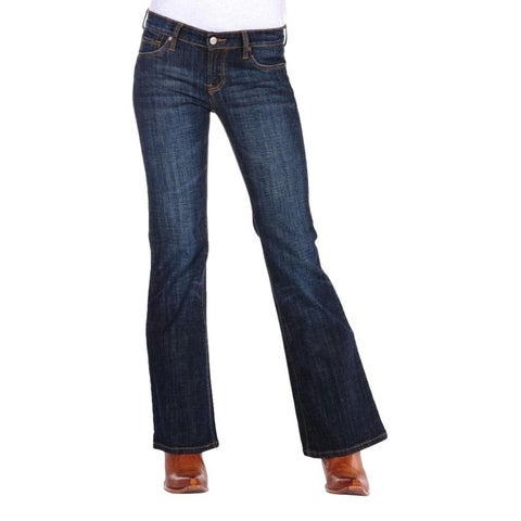Stetson Western Denim Jeans Womens Royal Wash