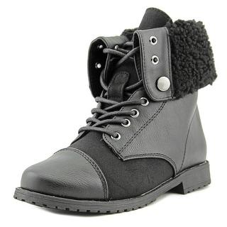 Rachel Shoes Aspen Youth Cap Toe Synthetic Boot