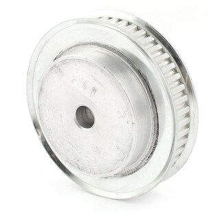 Silver Tone Stainless Steel 11mm Wide Belt 8mm Bore 6mm Pitch 40T Timing Pulley