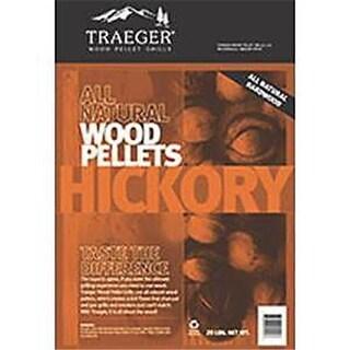 Traeger Pellet Grills PEL319 20 lbs Grill Traeger Pellets, Hickry