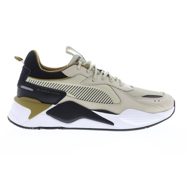 Shop Puma RS-X Core Overcast Black Mens Low Top Sneakers ...