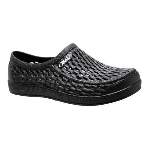 """Men's 4"""" Relax Aqua Tecs Garden Shoes, Black"""