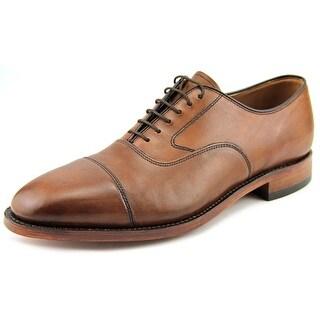 Johnston & Murphy Melton Men 3E Cap Toe Leather Tan Oxford