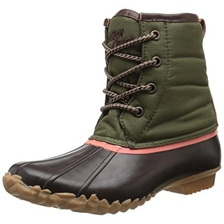 Western Chief Womens Four Eye Duck Waterproof Insulated Pac Boots