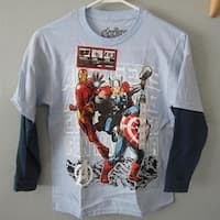 Marvel Comics Avengers Youth Size M Medium Shirt 68
