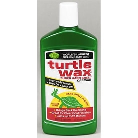 Turtle Wax T123R Super Hard Shell Wax 16 Oz