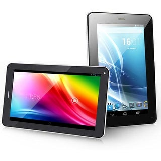 "Indigi Android Dual-Core 7"" Tablet & Phone + ( Bluetooth + WiFi + Google Play Store + Dual Cameras ) - Black"