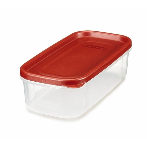 Rubbermaid 1776470 Dry Food Storage, 5 Cup, Clear Base