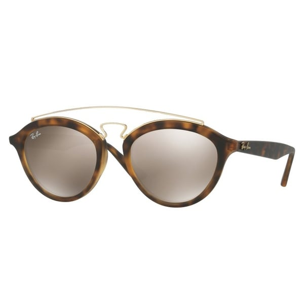 3543af5774c Shop Ray Ban RB4257 60925A 50mm Gatsby II Tortoise Brown Gold Mirror  Sunglasses - tortoise brown gold - 50mm-19mm-145mm - Free Shipping Today ...