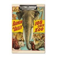 Barnum & Bailey - 108 Cage Zoo 1916 - Vintage Ad (Acrylic Clipboard)