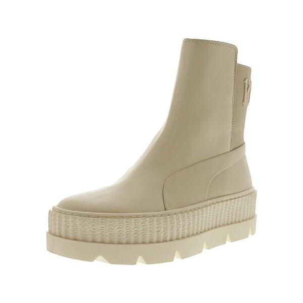 rihanna fenty chelsea boots