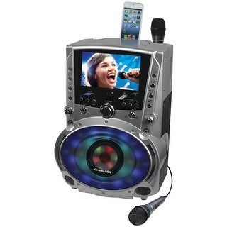 DVD-CD Plus G-MP3 Plus G Bluetooth Karaoke System with TFT Color