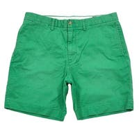 Polo Ralph Lauren Mens Khakis Flat-Front Shorts