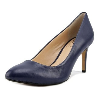 Vince Camuto Lamira Women  Round Toe Leather Blue Heels