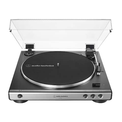 Audio-Technica AT-LP60X Gunmetal Automatic Belt-Drive Stereo Turntable