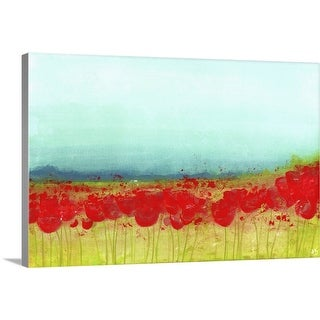 """""""Poppies"""" Canvas Wall Art"""