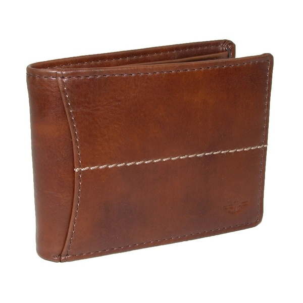 Dockers Men's Leather Extra Capacity Slimfold Wallet - One size