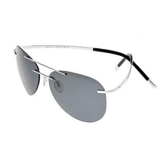 Simplify Sullivan Unisex Titanium Sunglasses - 100% UVA/UVB Prorection - Polarized Lens - Multi