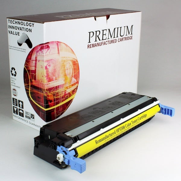 Re Premium Brand replacement for HP 645A Yellow Toner C9732A